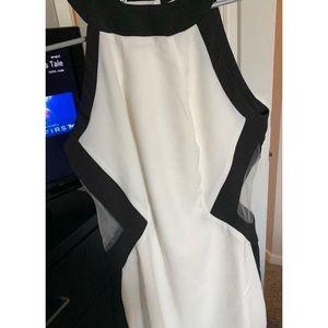 Tobi mesh cutout dress